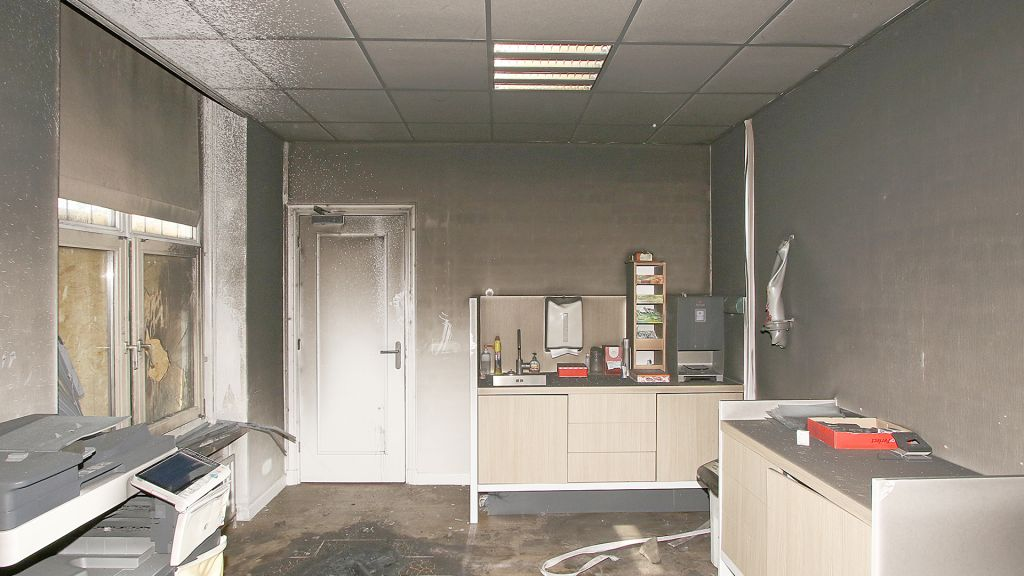 schade gemeentehuis Woudenberg na brand