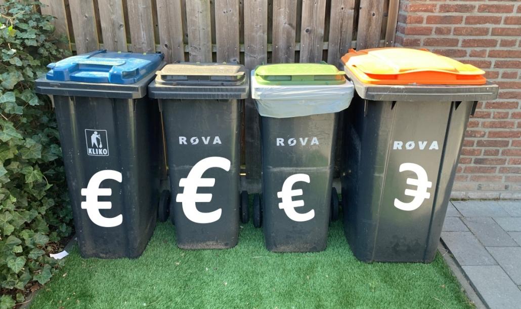 Afvalkosten woudenberg afvalbakken rova 2